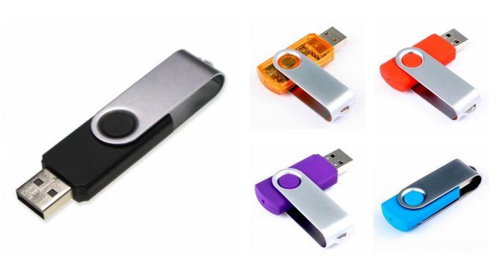 USB Twister met opdruk - Prikkels BV uit eindhoven