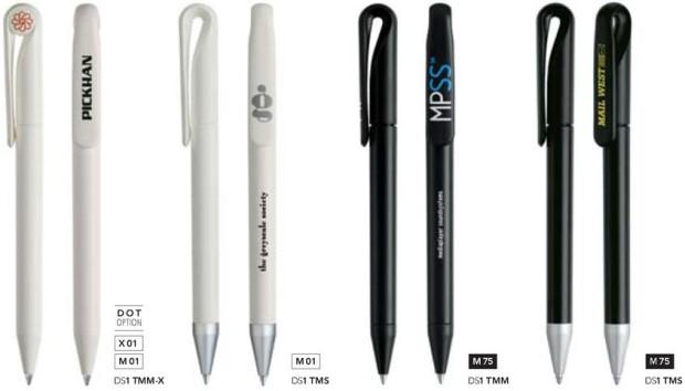 Bedrukte prodir pennen Ds1 Matt van Prikkels BV uit Eindhoven