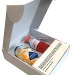 Voorbeeld dopper pakket