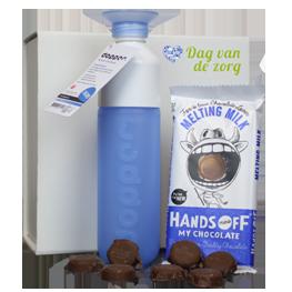 dopper_en_chocolade-geschenkpakket-met-eigen-sleeve