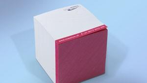 Bedrukte lubusblokken geleverd en bedrukt door Prikkels BV uit Eindhoven