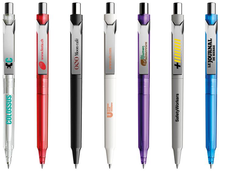 Prodir DS10 bedrukte pennen van Prikkels BV uit Eindhoven