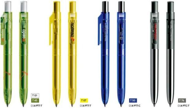 Prodir DS4 Transparant bedrukte Prodi pennen van Prikkels BV uit Eindhoven