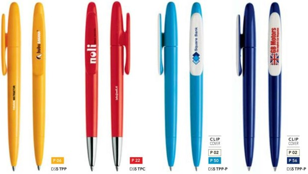 Prodir DS5 Polished bedrukte prodir pennen van Prikkels BV uit Eindhoven