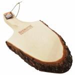 Snijplank in de vorm van een boomstam