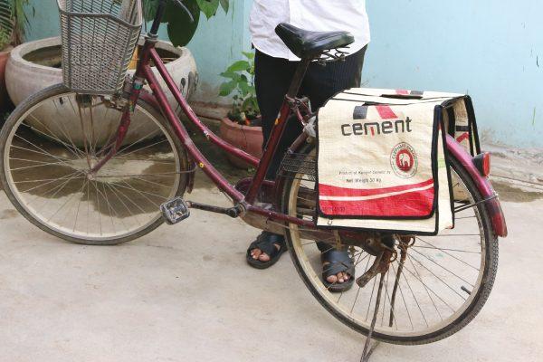 fair trade fietstas