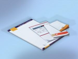 Bedrukte Schrijfblokken zonder Omslag geleverd en gedrukt door Prikkels BV uit Eindhoven