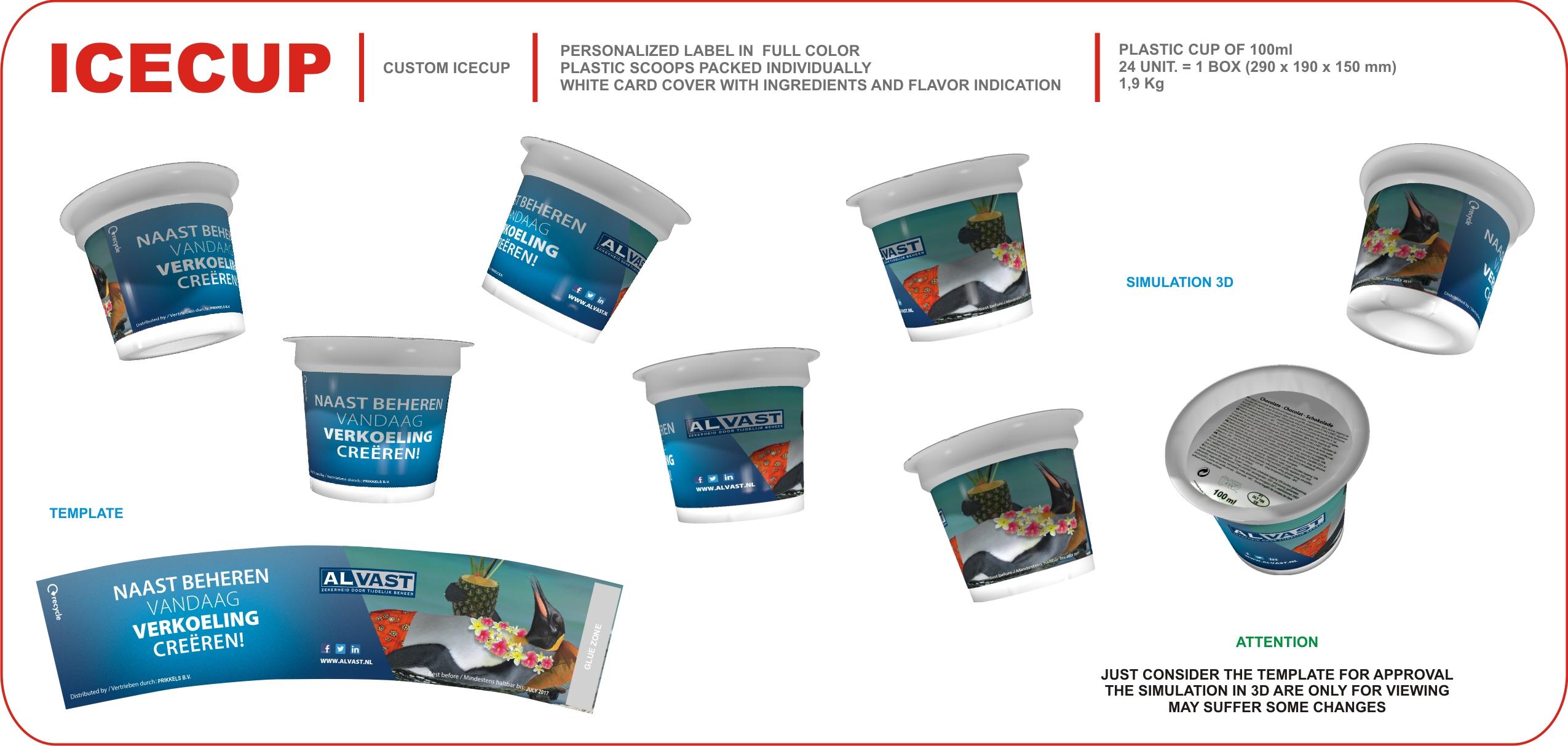 voorbeeld wikkel promotioneel ijs