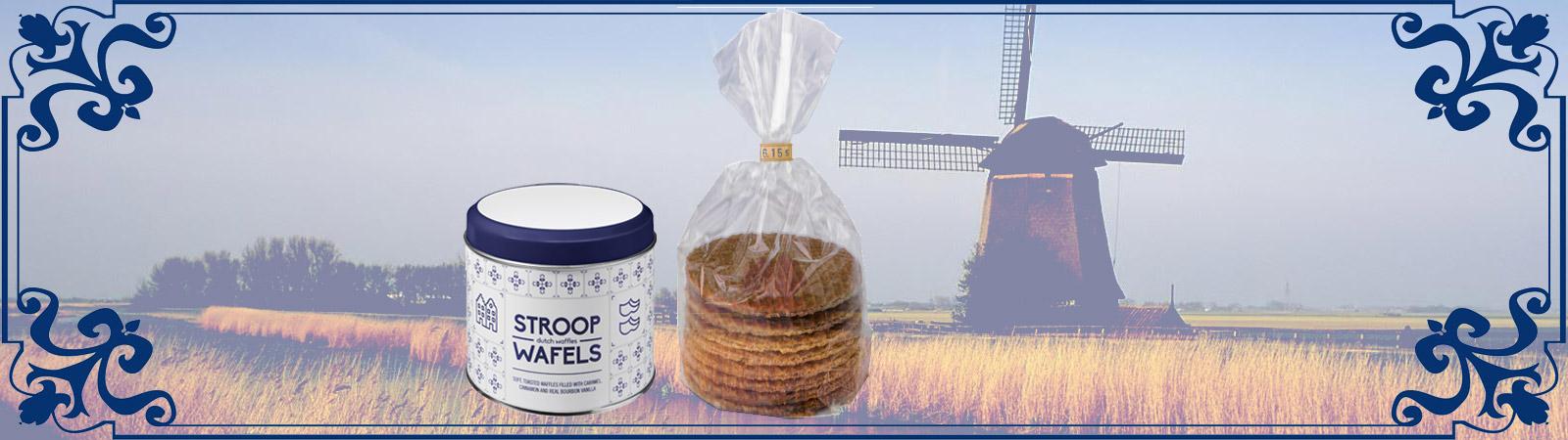 Stroopwafels in oud-Hollands blik met uw logo is een warme binnenkomer, geleverd door Prikkels uit Eindhoven.