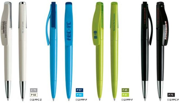 Prodir DS2 pen Polished bedrukte pennen van Prikkels BV uit Eindhoven