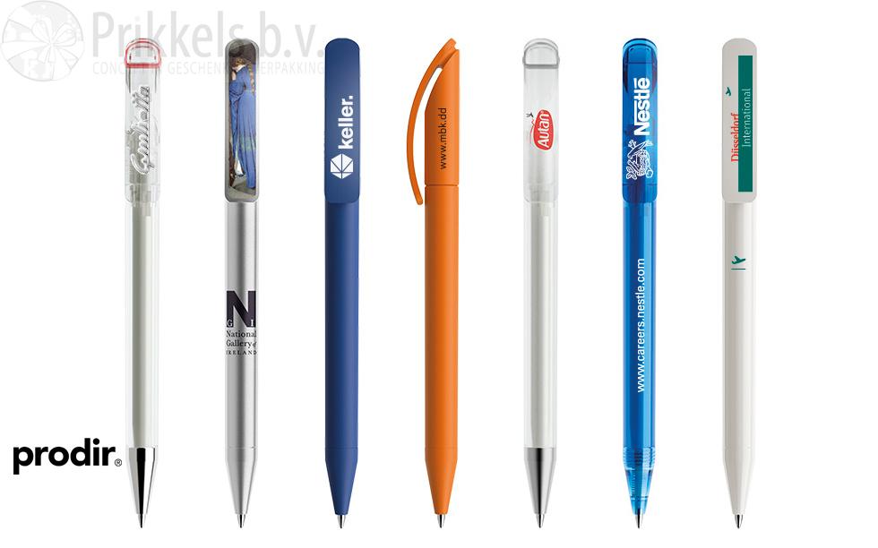 Prodir DS3 pen met bedrukking van uw logo Prikkels BV