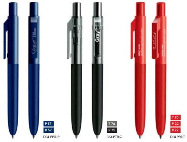 Prodir DS4 Soft touch bedrukte prodir pennen van Prikkels BV uit Eindhoven