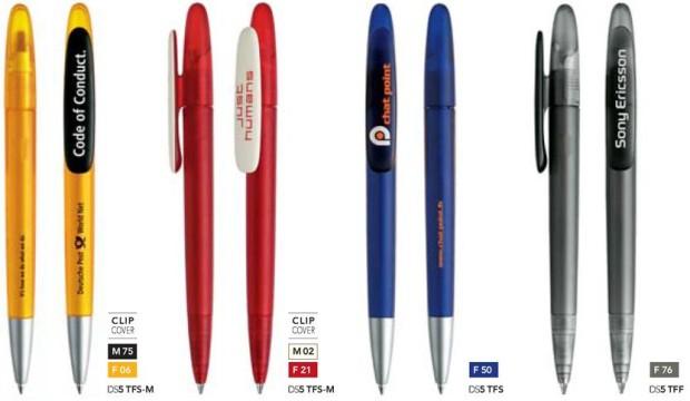 Prodir DS5 Frosted bedrukte pennen van Prikkels BV uit Eindhoven
