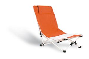 Strandstoel voor in het zomerpakket van Prikkels BV uit Eindhoven