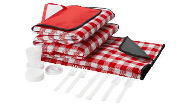Klassieke picknickset voor in het zomerpakket van Prikkels BV uit Eindhoven