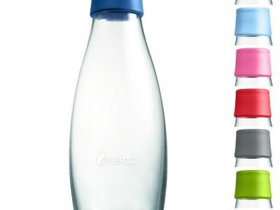 hervulbare flesje water - retap van Prikkels bv te Eindhoven