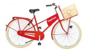 Op maat gemaakte fiets van Prikkels en Tulpfietsen